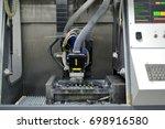 milling machine. milling... | Shutterstock . vector #698916580