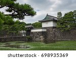 tokyo imperial palace  | Shutterstock . vector #698935369