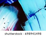 painted abstract background | Shutterstock . vector #698941498