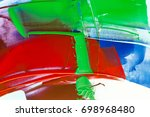 painted abstract background | Shutterstock . vector #698968480