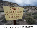 Sign Warns Of Scalding Water I...