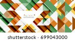 triangle pattern design... | Shutterstock .eps vector #699043000