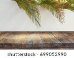 jewish festival of sukkot.... | Shutterstock . vector #699052990
