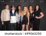 los angeles   aug 16  cast... | Shutterstock . vector #699063250