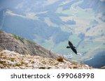 landscape of dolomites mountain ... | Shutterstock . vector #699068998