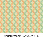 seamless geometric pattern from ... | Shutterstock . vector #699075316