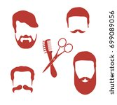 cute vector illustration of men ... | Shutterstock .eps vector #699089056