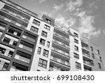 modern  luxury apartment... | Shutterstock . vector #699108430