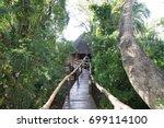 ruzizi tented lodge  rwanda  ...   Shutterstock . vector #699114100