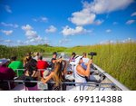 usa. florida. miami. august... | Shutterstock . vector #699114388