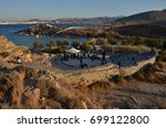 paros park  paros  greece   ca. ... | Shutterstock . vector #699122800