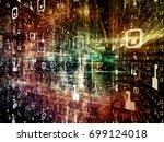 digital city series.... | Shutterstock . vector #699124018