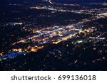 downtown boulder  colorado at... | Shutterstock . vector #699136018