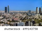 modern buildings at abdali area ...   Shutterstock . vector #699143758