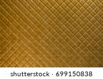 texture of fabric  geometric... | Shutterstock . vector #699150838