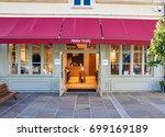 paris  france   may 10  2017  ...   Shutterstock . vector #699169189