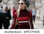 paris october 1  2016. top...   Shutterstock . vector #699179434