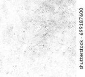 grunge halftone black and white.... | Shutterstock . vector #699187600