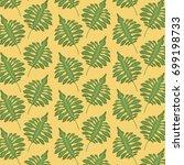 pattern color set decorative of ... | Shutterstock .eps vector #699198733