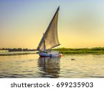 fishing boat. african felucca...