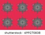 raster illustration. a colorful ...   Shutterstock . vector #699270838