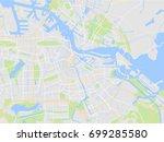 map city | Shutterstock .eps vector #699285580