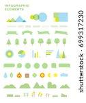 infographics element  chart ... | Shutterstock .eps vector #699317230