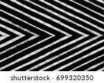 black and white vector checked... | Shutterstock .eps vector #699320350