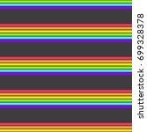 endless lgbt flag seamless...   Shutterstock .eps vector #699328378