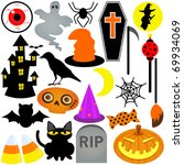 vector of halloween festival... | Shutterstock .eps vector #69934069