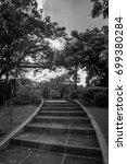 black and white vertical... | Shutterstock . vector #699380284