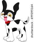 dalmation cartoon | Shutterstock .eps vector #699395164