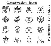 eco friendly  conservation icon ... | Shutterstock .eps vector #699432376