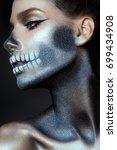Fashionable Zombie Girl....