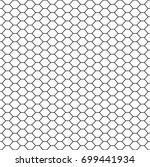 geometric background of white... | Shutterstock .eps vector #699441934