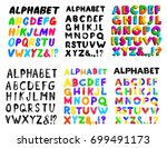 collection children's font in... | Shutterstock .eps vector #699491173