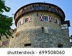 vaduz  liechtenstein  17 aug... | Shutterstock . vector #699508060
