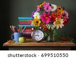 back to school. september 1 ... | Shutterstock . vector #699510550