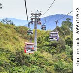 genting highlands  malaysia  ... | Shutterstock . vector #699510973