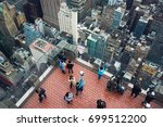 new york  usa   may 03  2016 ... | Shutterstock . vector #699512200