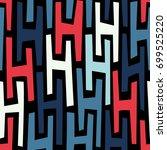 seamless abstract vector...   Shutterstock .eps vector #699525220
