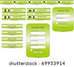 web design elements | Shutterstock .eps vector #69953914