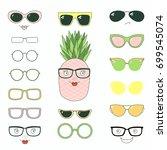 hand drawn vector illustration... | Shutterstock .eps vector #699545074