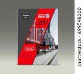 cover design  corporate... | Shutterstock .eps vector #699548200