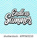 vector illustration of endless... | Shutterstock .eps vector #699565210