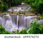 Huai Mae Kamin Waterfall In...