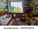 giverny  france   14 august... | Shutterstock . vector #699593074