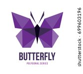 low poly logo icon symbol...   Shutterstock .eps vector #699603196