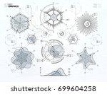 infographics vector elements... | Shutterstock .eps vector #699604258