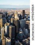 new york  usa   april 25  2015  ... | Shutterstock . vector #699604864